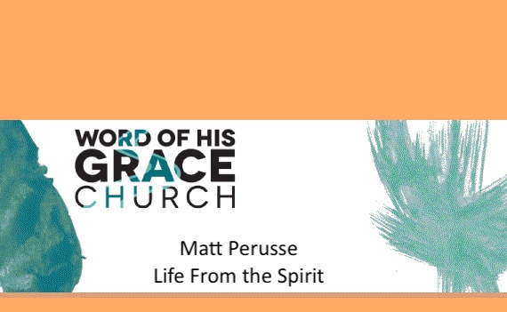Life From the Spirit