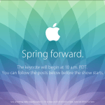 Apple Spring Forward Event