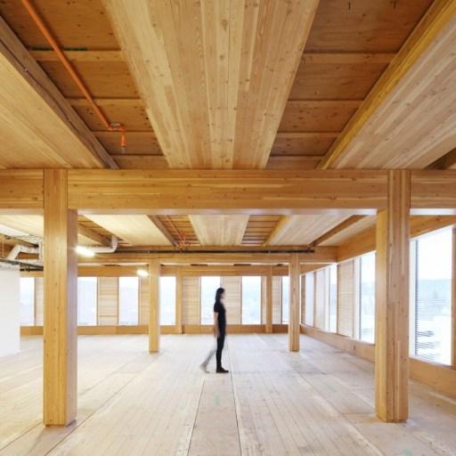 Wooden skyscraper, the future is here