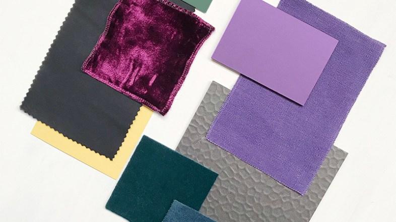 Ultraviolet, color Pantone of the year 2018, por Gudy Herder