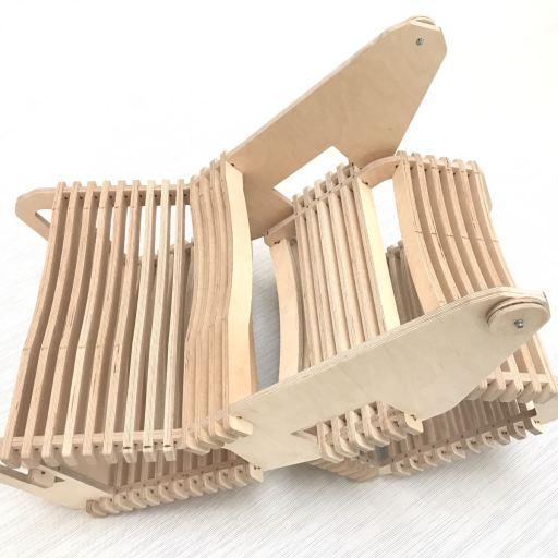 Arrolo : un meuble issu de la philosophie maker entre la chaise et le pupitre