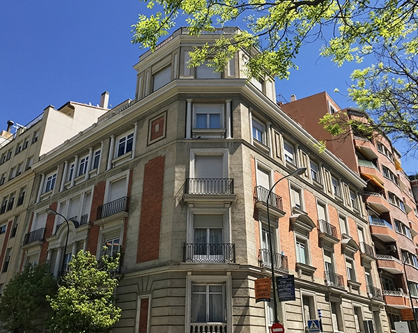 Casa Decor 2019 se celebrará en un edificio histórico situado en la calle Núñez de Balboa, en el barrio de Salamanca.