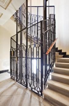 Escalera del edificio de Casa Decor 2019.