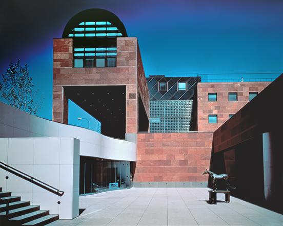Museo de Arte Contemporáneo de Los Ángeles, Arata Isozaki, 1986. Foto: Yasuhiro Ishimoto