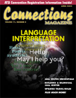 April 2003 issue of Connections Magazine