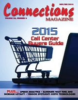 Connections Magazine, covering the teleservices call center industtry