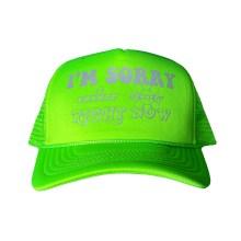 Green Reflective Trucker