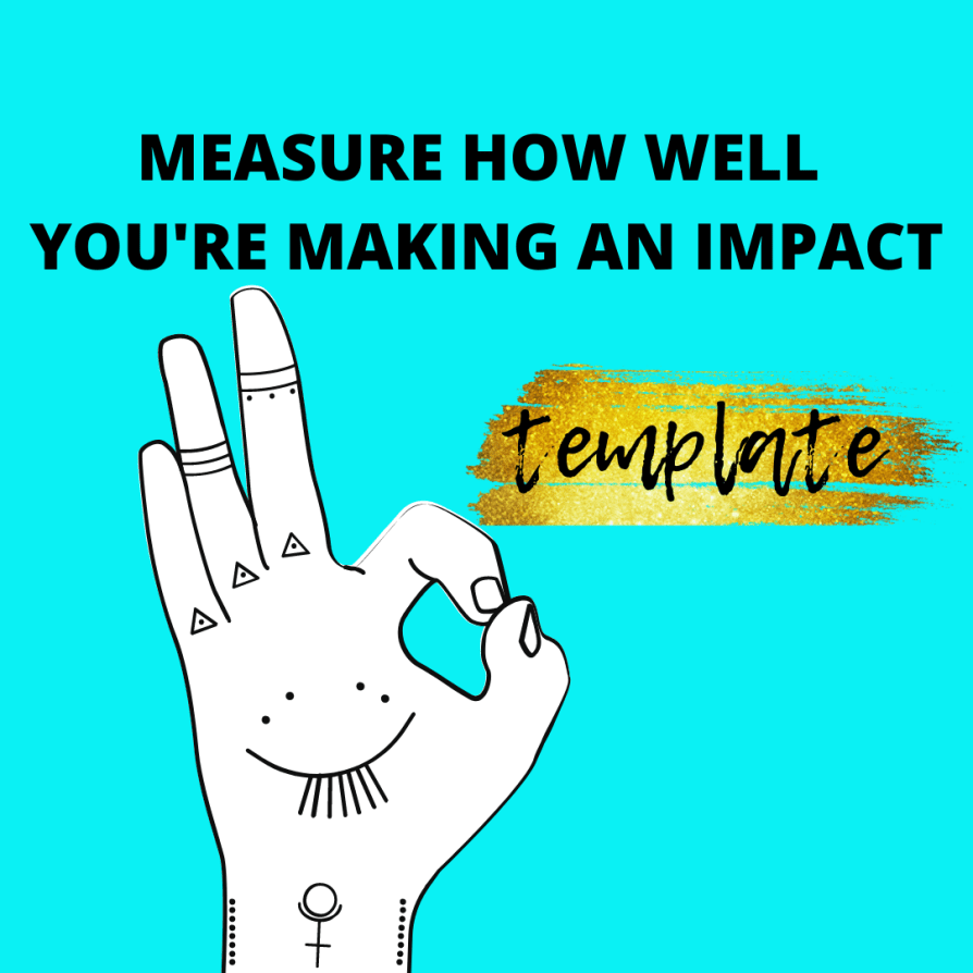 how well you are making an impact conversion tracker