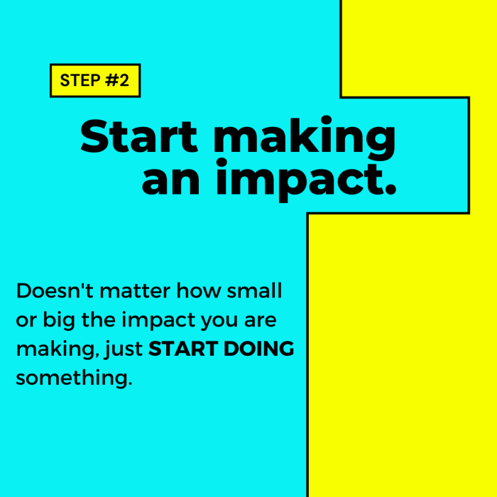 Step 2 to start making an impact. Advice from Timi Orosz, impact-driven entrepreneur