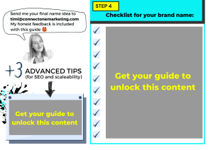 Steps to How to create a brand name template