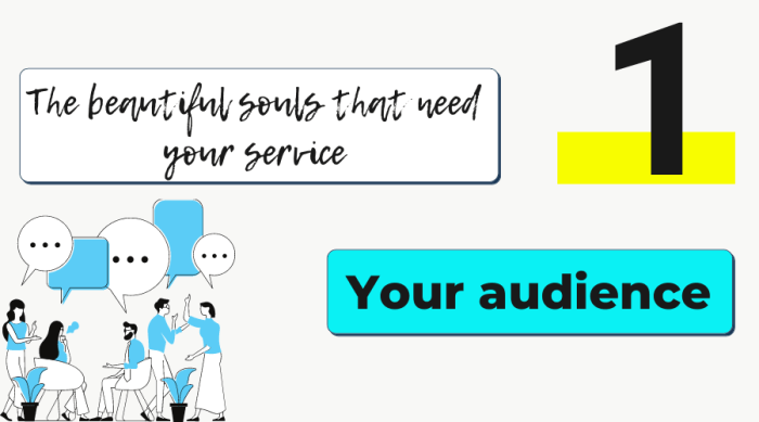 Marketing for spiritual businesses step one: your audience