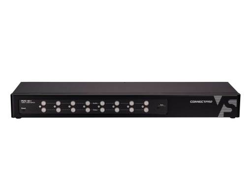 AVS-18-I an eight port vga audio switch