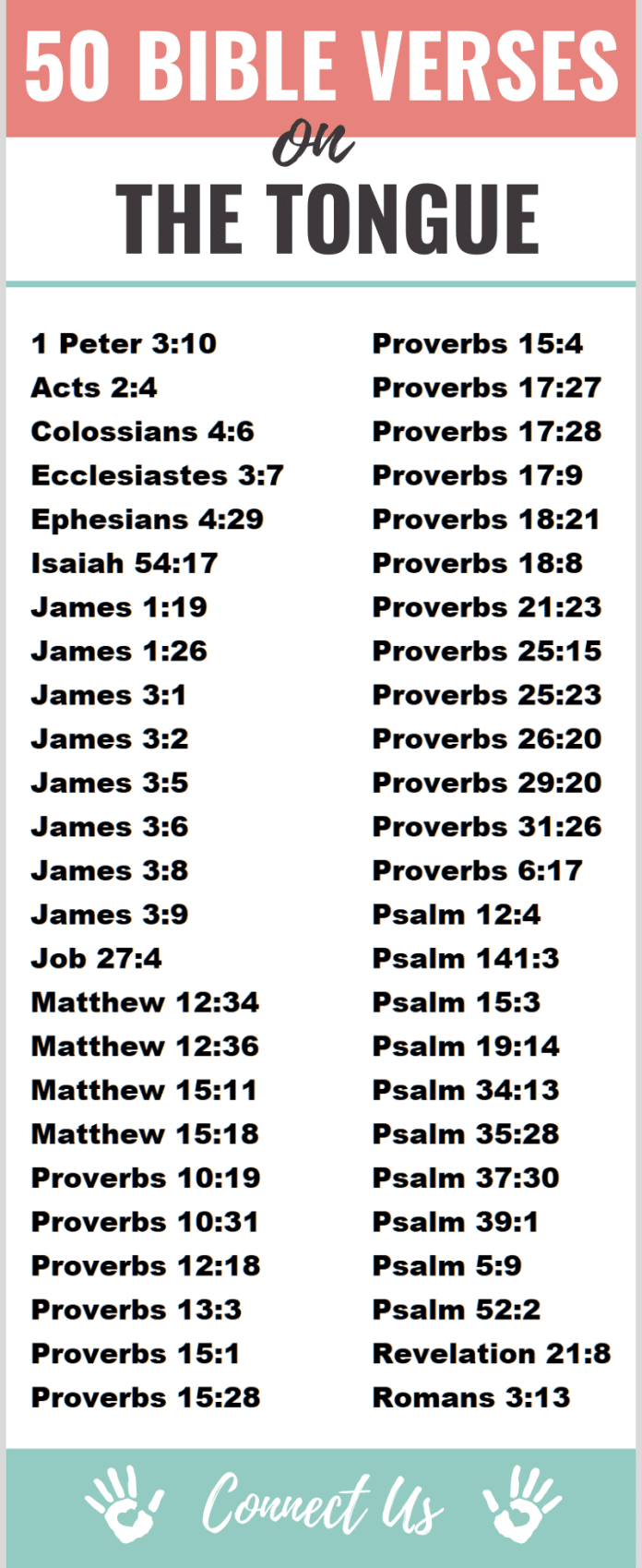 Bible Verses on the Tongue