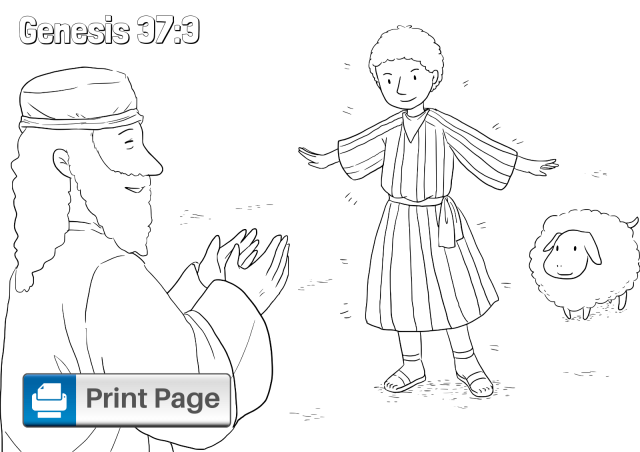Joseph and His Brothers Coloring Pages for Kids – ConnectUS