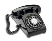 prospecting using old rotary phone