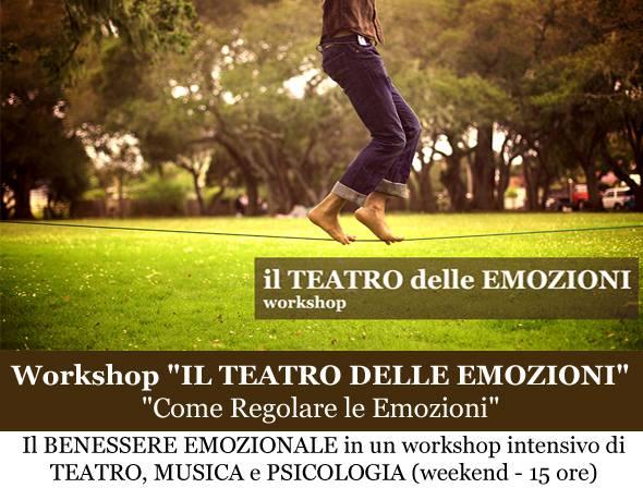"""Workshop """"Il Teatro delle Emozioni"""""""
