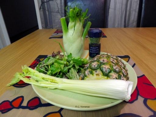 Sid 52 Evergreen Selleri fänkål romansallad ananas och dragon is