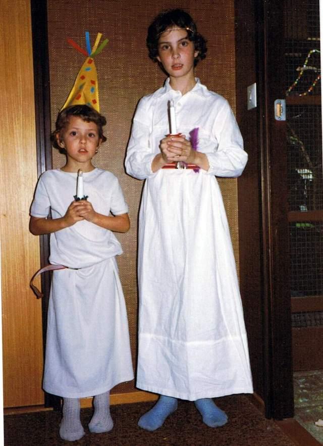Tomas 1984 och Anelie Lucia och Stjärngosse FB