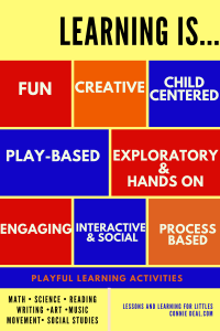 Playful learning activities are...