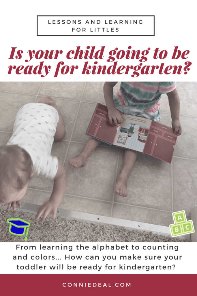 Learn what your toddler needs to know to be prepared for kindergarten, how you can do this at home WITHOUT preschool, and learn simple strategies and learning activities that you can start doing NOW to help your child learn at home, including reading strategies, counting, and teaching your toddler the abcs from Lessons and Learning for Littles.