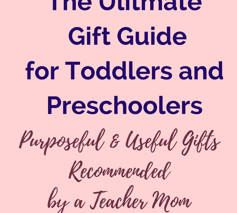 What do you get the toddler who has everything? Check out these learning gifts recommended by a credentialed teacher and mom of two toddlers (2u2). #toddlergifts #giftbuyingguide #ChristmasGifts #BirthdayGifts #baby #toddler