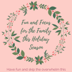 What's the key to less stress this holiday season? Click through and find out how to reduce your #mom stress this holiday season! #holidays2017 #family #momlife