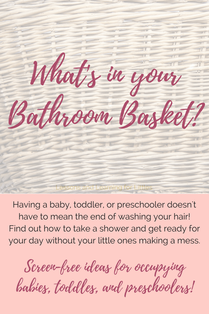 """Help! My kids are destroying my house while I shower!"" and ""But, I don't have time to shower"" are things we've all vented about or heard other moms complain about. So, just how can we take a shower or get ready for our day without having a giant kid-made mess to clean up AND without using Netflix? #motherhood #toddlerroutines #2u2 #stayathomemom"