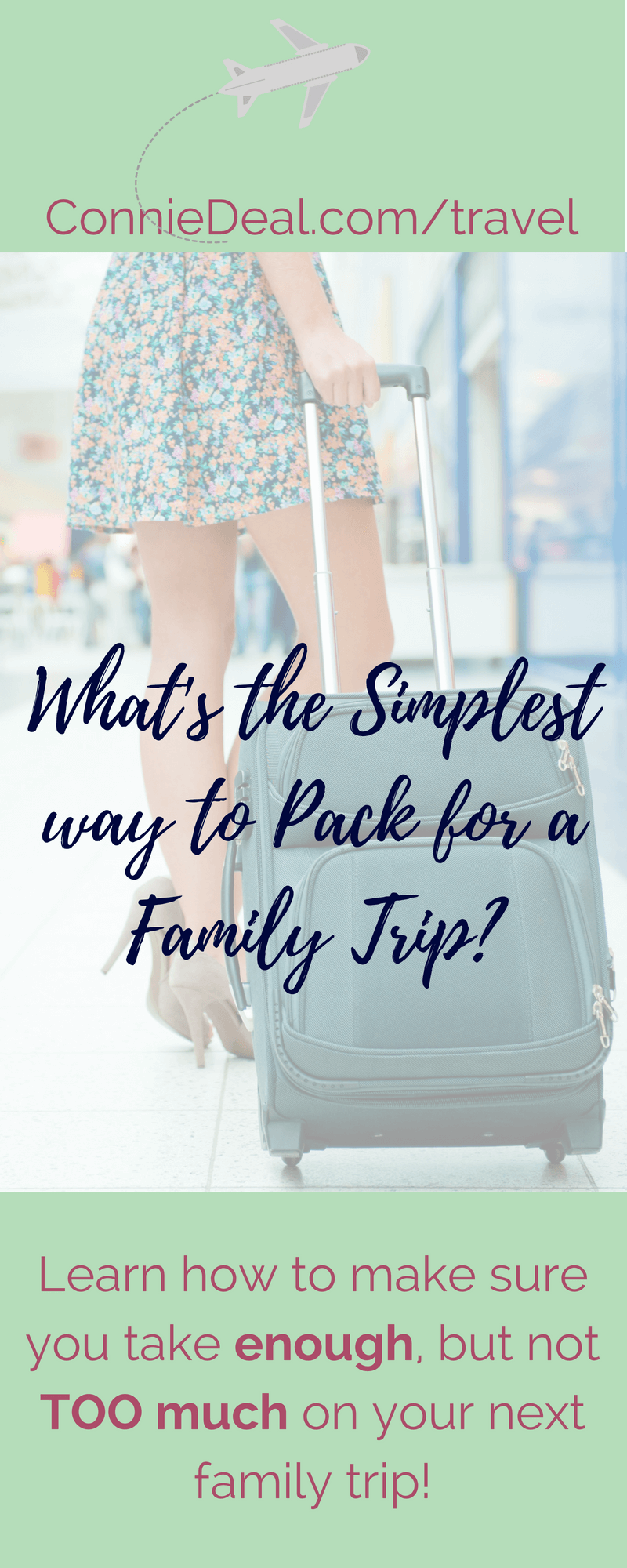 Make packing for a #familytrip easier and less stressful with my simple 5 step plan. And, rest assured that you have everything you need, but not TOO much! #travel #summertravel #travellingwithtoddlers #travelingwithkids