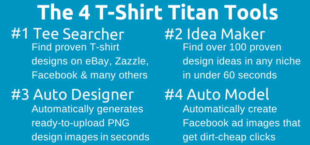The-4-T-Shirt-Titan-Software-Tools