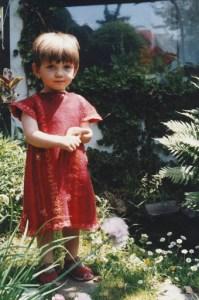 flora--boy in felted robe