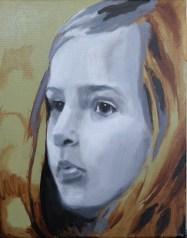 2017-03-04 Portrait - 'Imogen' (Oils) - Part 3 - Grisaille 3 Touched Up