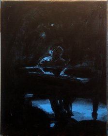 'Piano Man' 2 - Roughed in