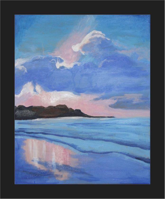 2012-10-26 Landscape - 'Seascape' (Acrylics)