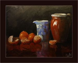 'Orange Reflections'