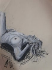 2015 Live Sketch - 'Relaxation' (Pastels)