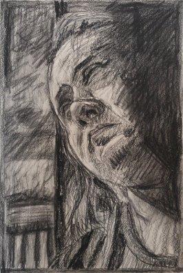 2015 Portrait - 'Pensive' (Charcoal)