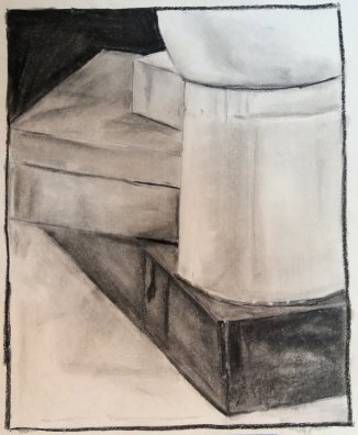 2015 Still Life - 'Boxes' (Pastels)