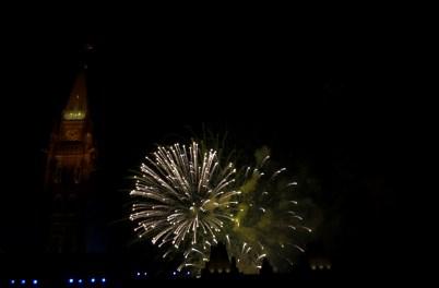 Canada Day 2011 082 Unique Fireworks Explosion Parliament Hill