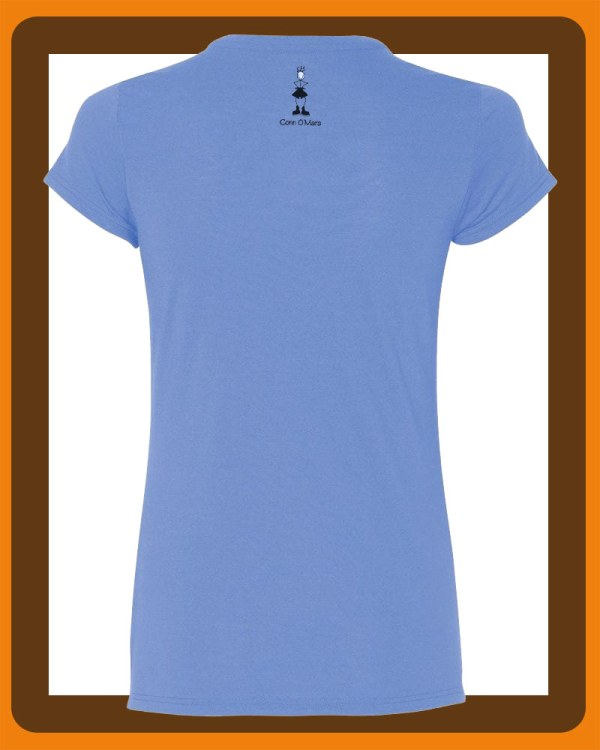 Womens connemara T-shirts by Conn O'Mara | T-shirts, clothing from Connemara | Womens t-shirt from the Back with Conn O'Mara Logo at top.