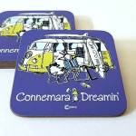Connemara Dreamin Coaster (Purple)