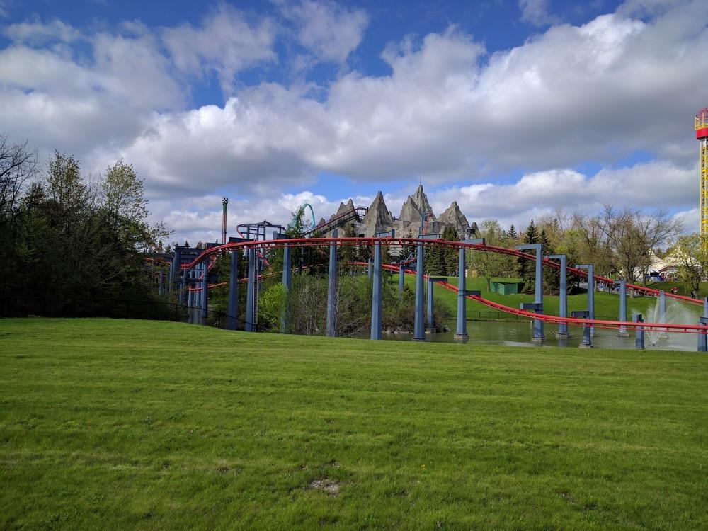 Canada's Wonderland Roller Coaster