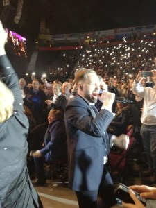 Alfie Boe at the Manchester Arena Year In Review