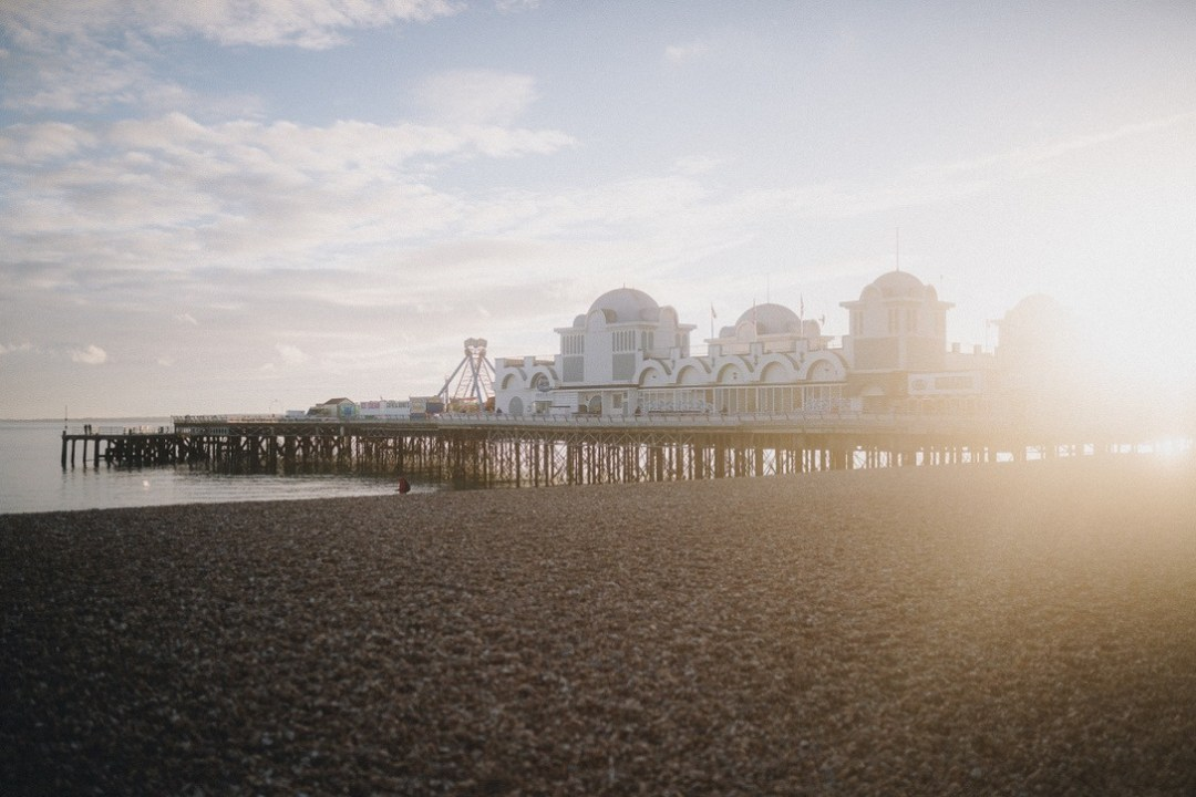 The south parade pier in portsmouth using the tiffen 1/4 promist