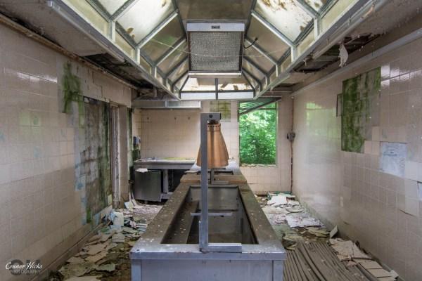 RAF-Church-Fenton-Urbex-Kitchen