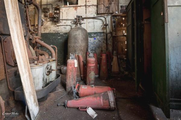 Urbex-Fire-Extinguishers-Somerset-Tonedale-Mills