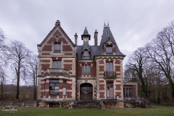 Chateau Sanglier France Urbex