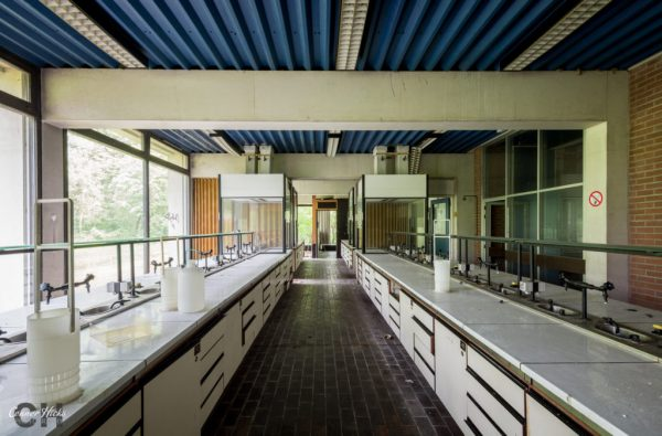 urbex science labs