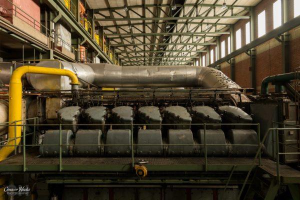 turbine hall diesel farm