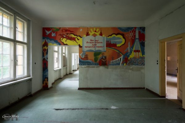 Haus Der Offiziere germany mural