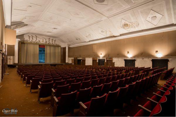 Haus Der Offiziere theatre urbex germany